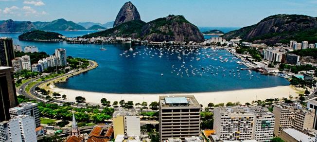 rio de janeiro copacabana strand suikerberg brazilie