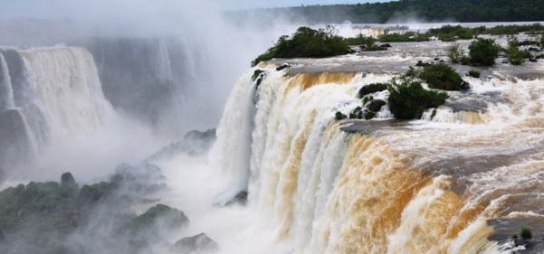 iguazu watervallen brazilie vakantie